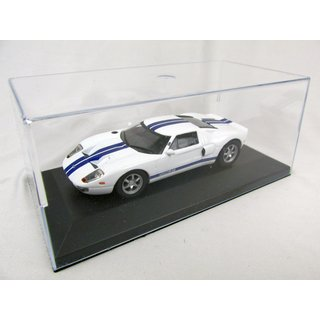 FORD GT 40  1966 Fertigmodell Maßstab 1:43  in Displayvitrine