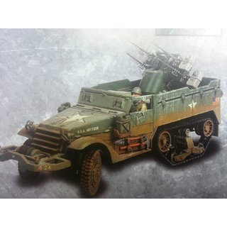 Forces of Valor 81024 - US M16 Multiple Gun - Fertigmodell - Neu & OVP - 1:32