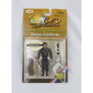 General George S. Patton Jr. Actionfigur Maßstab 1:18 Dress Uniform Soldaten Figur