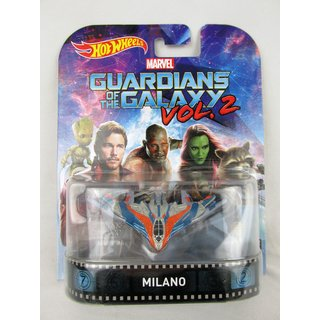 Guardians of the Galaxy Vol. 2 Raumschiff Milano Hotwheels Die-Cast Modell