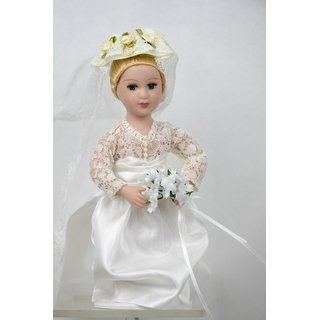 Porzellan Puppe Prinzessin Puppe Grace Kelly Monaco Royal Dolls Collection