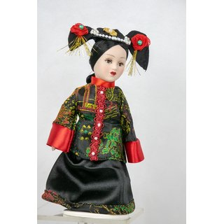 Porzellan Puppe Prinzessin Imperatorin Cixi China Royal Dolls Collection