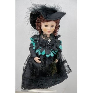 Porzellan Puppe Prinzessin Victoria Kaiulani Hawai Royal Dolls Collection