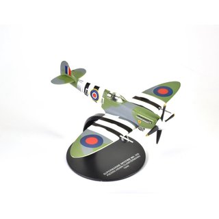 Spitfire MK. IXB Pierre-Henri Clostermann 1:72 Fighters of World War II - ATLAS