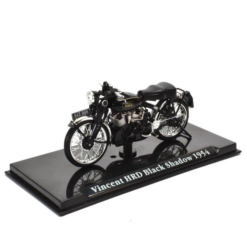 Vincent HDR Black Shadow 1954  1:24 Motorrad Fertigmodell Die-Cast Metall
