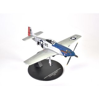 Mustang P-51 D George Preddy 1944 1:72 Die-Cast Metall