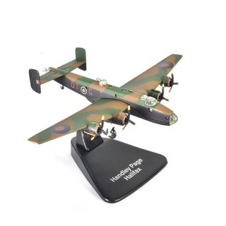 Handley Page Halifax Fertigmodell Maßstab 1:144 Die-Cast ready built
