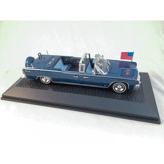 Lincoln Continental Limousine SS-100-X John F. Kennedy Die-Cast Maßstab 1:43