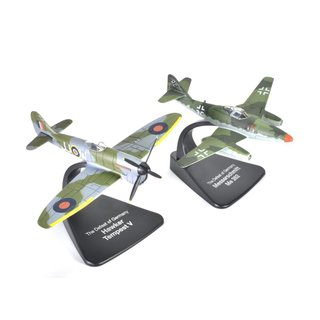 Dogfight Set Messerschmitt Me 262 vs. Hawker Tempest Fertigmodell Maßstab 1:72