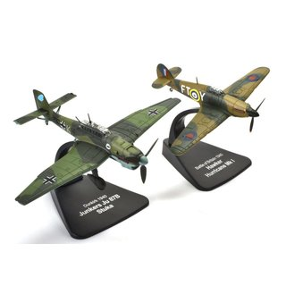 Dogfight Set Junkers JU 87 Stuka vs. Hawker Hurricane Mk I Fertigmodell 1:72