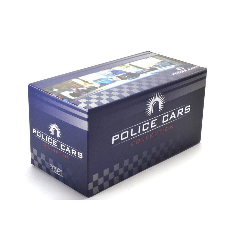Mercedes 180D Polizei Die-Cast Metall Fertigmodell Maßstab 1:43