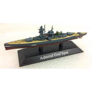 HMS Prince of Wales 1:1250 Modellschiff Die-Cast Metall Kriegsschiff Atlas