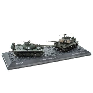 World of Tanks Panzerset Dong Ha Type 59 vs. M41 Walker Bulldog 1:72 Fertigmodelle
