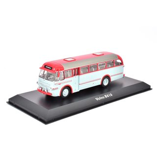 Volvo B616 Bus Fertigmodell aus Die-Cast Metall in Vitrine 1:72