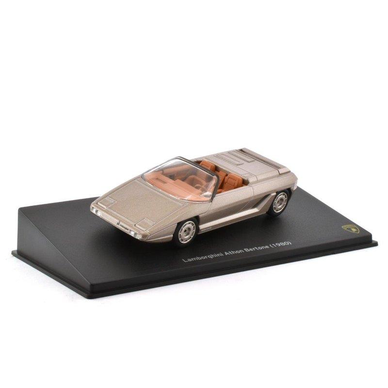 Lamborghini Athon Bertone Fertigmodell Die-Cast Maßstab 1:43