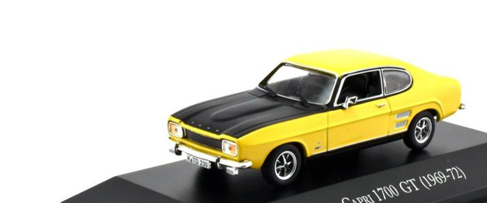 Ford Capri 1700 GT 1969 in 1:43