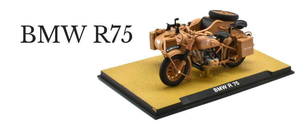 BMW R75 Kraftrad der Wehrmacht 1:24
