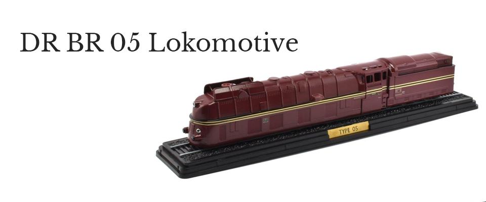 DR BR 05 Lokomotive 1:100